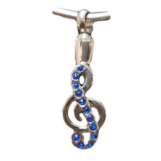 Music Note Cremation Pendant