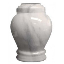 Embrace White Small Urn