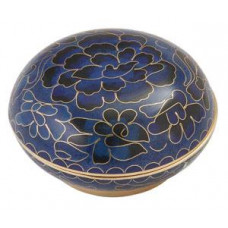 Blue Cloisonne Memory Holder