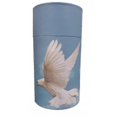 Scattering Tube - Dove (small)