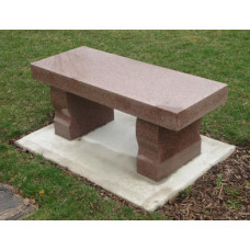 Solid Granite Benches