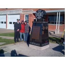 Welland Professional Firefighters Memorial